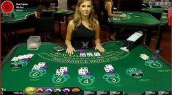 image of live blackjack online
